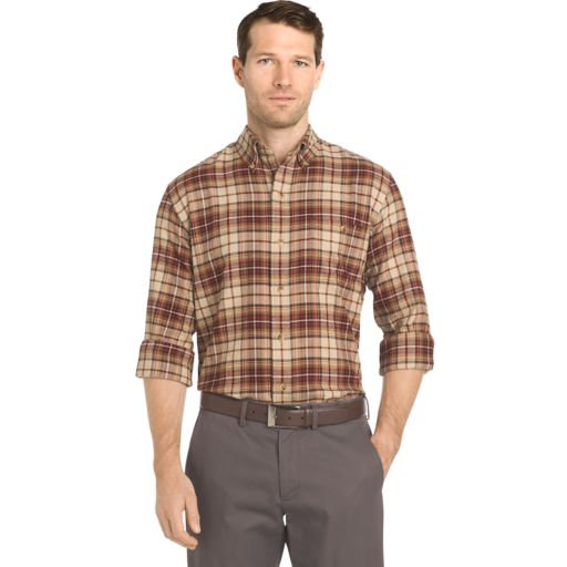 Big & Tall Arrow Saranac Regular-Fit Plaid Flannel Button-Down Shirt