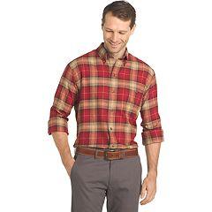 Big & Tall Arrow Saranac Regular-Fit Plaid Flannel Button-Down Shirt