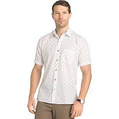Big & Tall Van Heusen Untucked Regular-Fit Button-Down Shirt