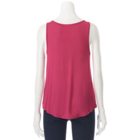 Juniors' Mudd® Swing Muscle Tank