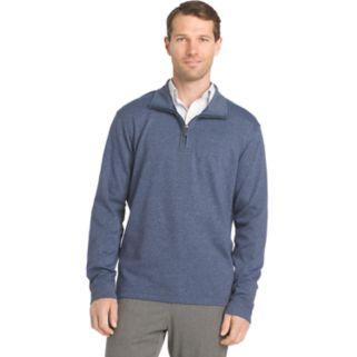 Big & Tall Van Heusen Flex Stretch Regular-Fit Quarter-Zip Pullover