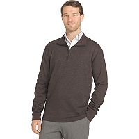 Big & Tall Van Heusen Flex Stretch Regular-Fit Quarter-Zip Pullover