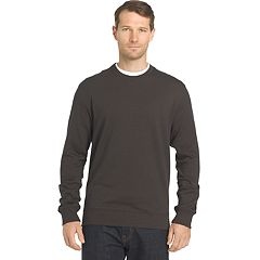 Big & Tall Van Heusen Regular-Fit Flex Stretch Fleece Crewneck Sweater