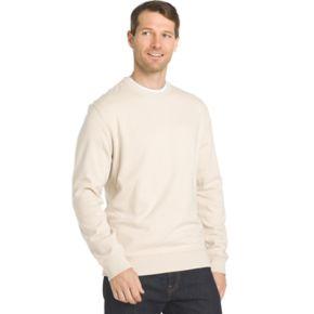 Big & Tall Van Heusen Regular-Fit Flex Stretch Fleece Crewneck Sweater