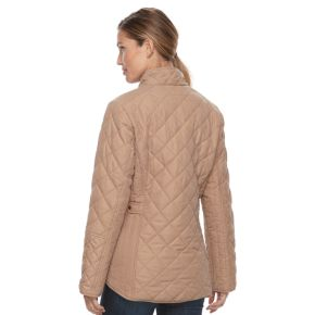 Women's KC Collections Diamond Quilted Jacket