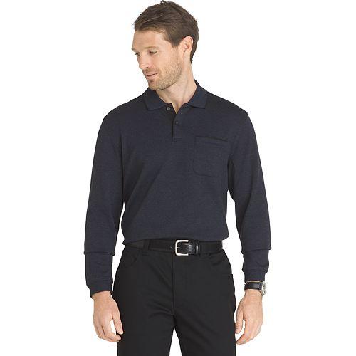Big & Tall Van Heusen Flex Classic-Fit Stretch Polo