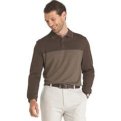 Big & Tall Van Heusen Jaspe Classic-Fit Flex Stretch Polo