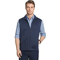 Big & Tall Van Heusen Traveler Regular-Fit Fleece Stretch Vest