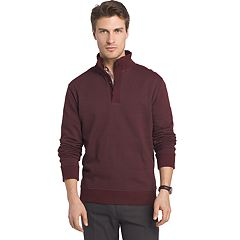 Big & Tall Van Heusen Classic-Fit Stretch Mockneck Pullover