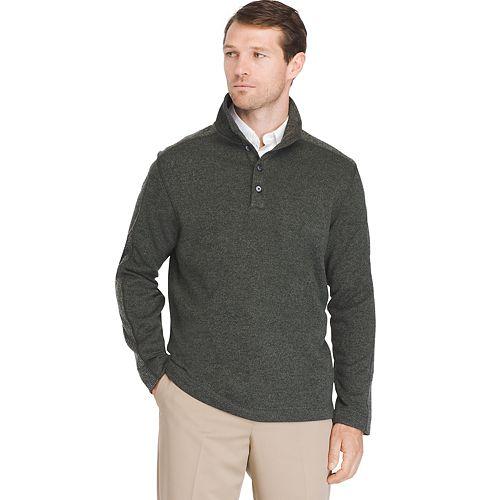 Big & Tall Van Heusen Classic-Fit Mockneck Pullover Sweater