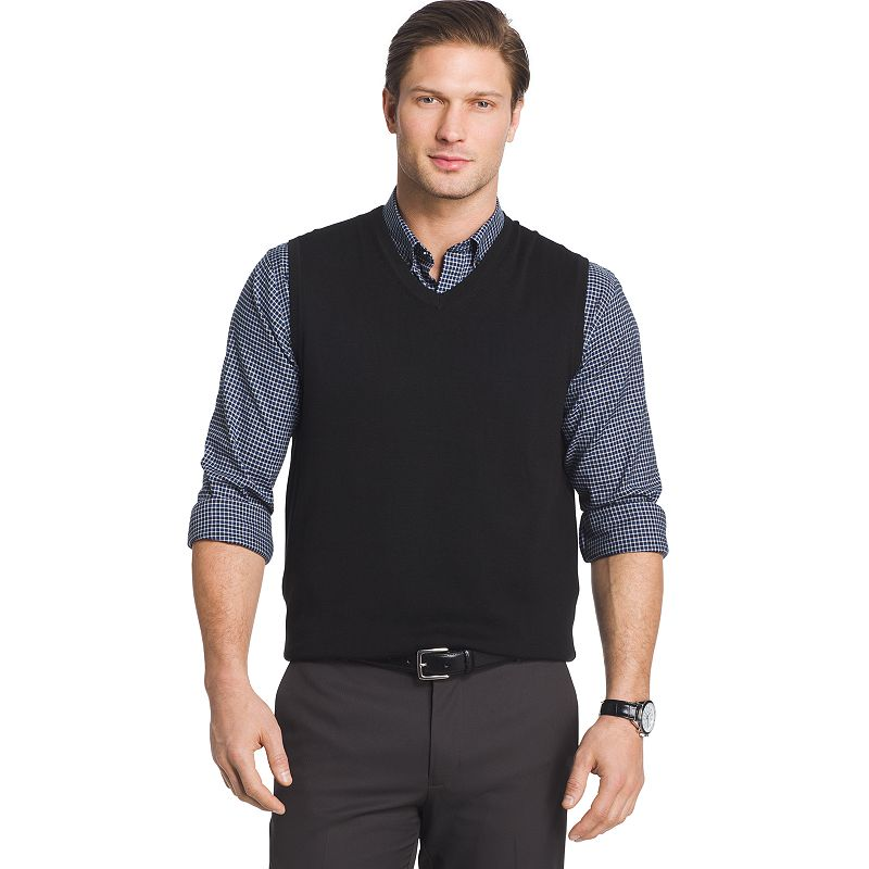 a555df033 Big   Tall Van Heusen Classic-Fit Argyle Sweater Vest