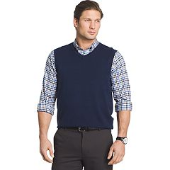 Big & Tall Van Heusen Classic-Fit Argyle Sweater Vest