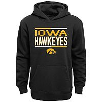 Boys 8-20 Iowa Hawkeyes Fleece Hoodie