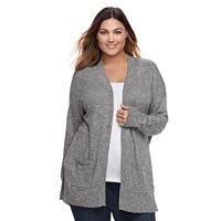 Plus Size SONOMA Goods for Life™ Open-Font Cardigan