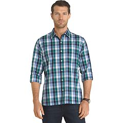 Big & Tall Van Heusen Untucked Slim-Fit Button-Down Shirt