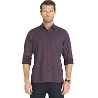 Big & Tall Van Heusen Untucked Slim-Fit Button-Down Shirt
