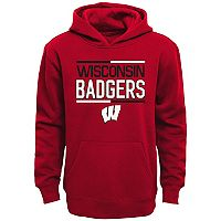 Boys 8-20 Wisconsin Badgers Fleece Hoodie