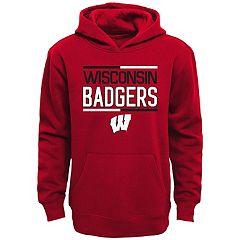 Boys 8-20 Wisconsin Badgers Fleece Hoodie