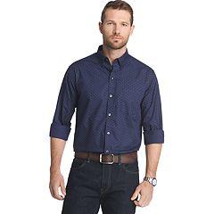 Big & Tall Van Heusen Flex Stretch Slim-Fit Button-Down Shirt