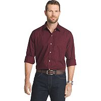 Big & Tall Van Heusen Flex Stretch Slim-Fit Button-Down Shirt