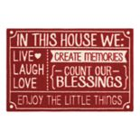 "St. Nicholas Square® ""In This House"" Rug"