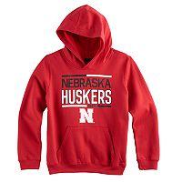 Boys 8-20 Nebraska Cornhuskers Fleece Hoodie