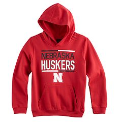 Boys 8-20 Nebraska Cornhuskers Fleece Hoodie