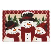 St. Nicholas Square® Snowmen Rug