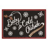 "St. Nicholas Square® ""Baby, It's Cold Outside"" Rug by Nourison"
