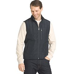 Big & Tall Van Heusen Traveler Quilted Vest