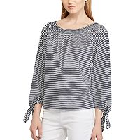 Women's Chaps Off-the-Shoulder Top