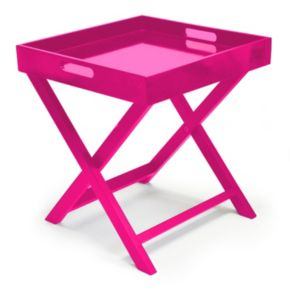 Urban Shop Folding Tray End Table