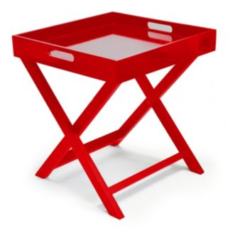 Urban Shop Folding Tray End Table
