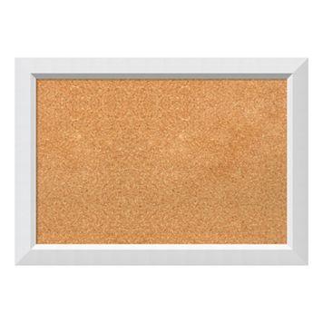 Amanti Art White Framed Cork Board Wall Decor