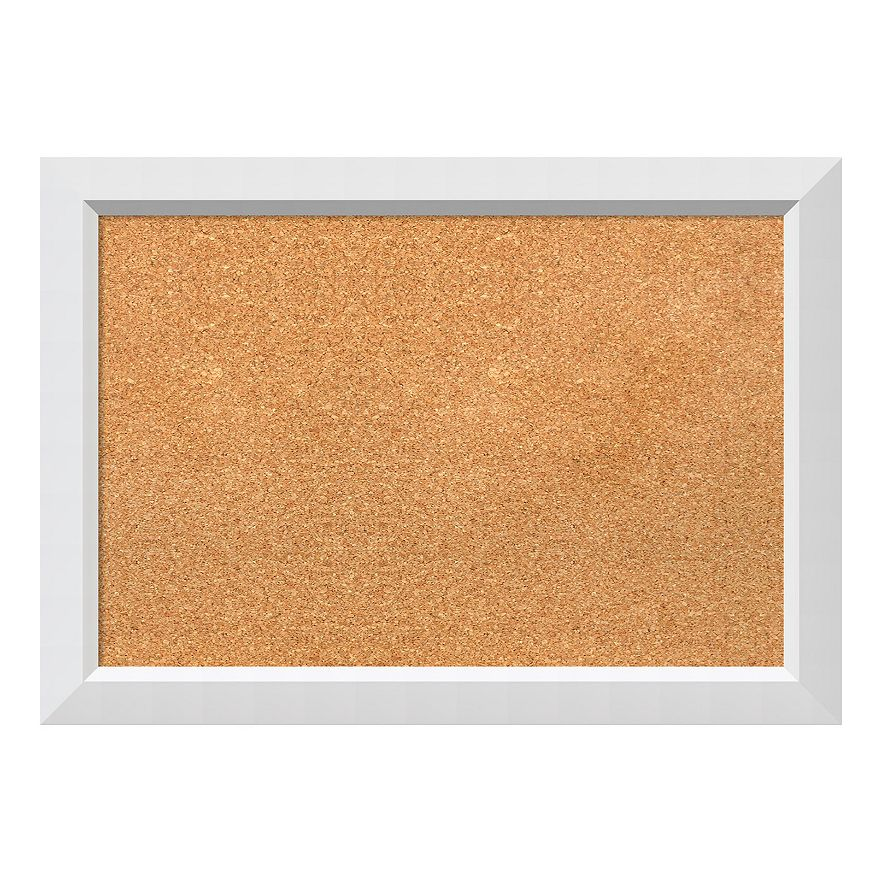 Amanti Art White Framed Cork Board Wall Decor
