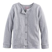 Girls 4-10 Jumping Beans® Button-Front Cardigan