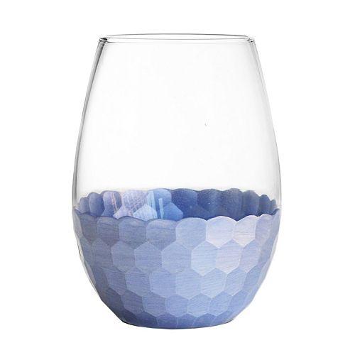 Fitz & Floyd Daphne 4-pc. Stemless Wine Glass Set