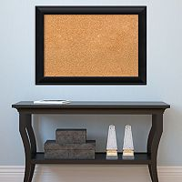 Amanti Art Corvino Black Finish Cork Board Wall Decor