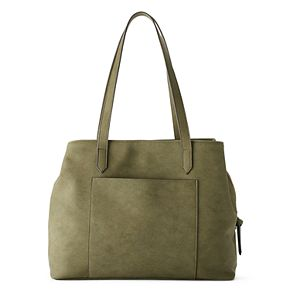 SONOMA Goods for Life? Knotted Handle Triple Entry Tote
