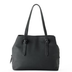 SONOMA Goods for Life™ Knotted Handle Triple Entry Tote