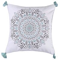 Erika Spa Medallion Throw Pillow