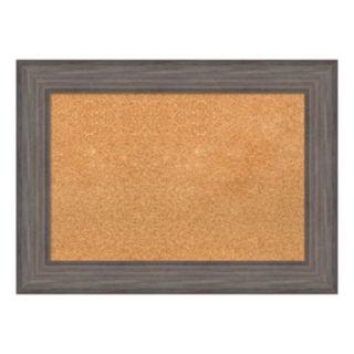 Amanti Art Framed Wood Cork Board Wall Decor