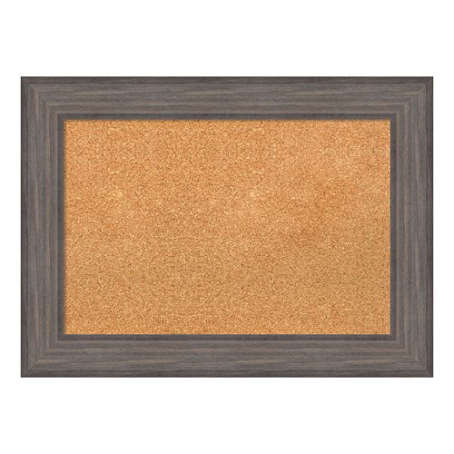 Amanti Art Framed Wood Cork Board Wall Decor