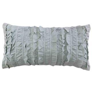 Erika Spa Ruched Throw Pillow