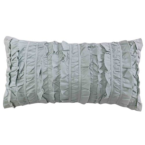 Erika Spa Ruched Throw Pillow
