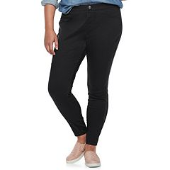 Juniors' Plus Size SO® Pull-On Color Leggings