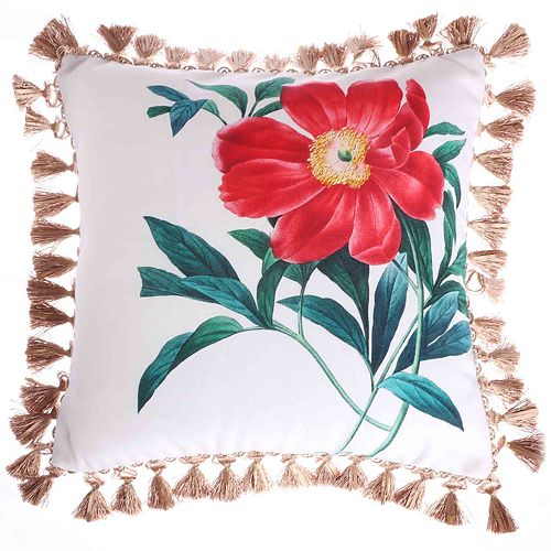 Taylor Rose Throw Pillow