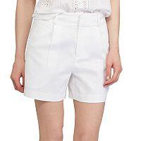 Women's Chaps Linen Blend Shorts
