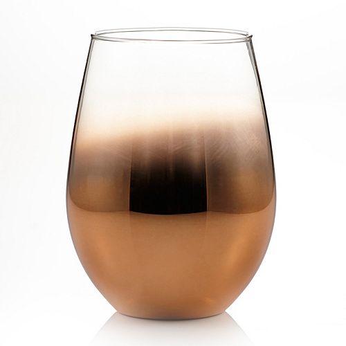 Fitz & Floyd Ombre 4-pc. Stemless Wine Glass Set