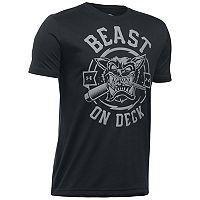 Boys 8-20 Under Armour Beast On Deck Tee